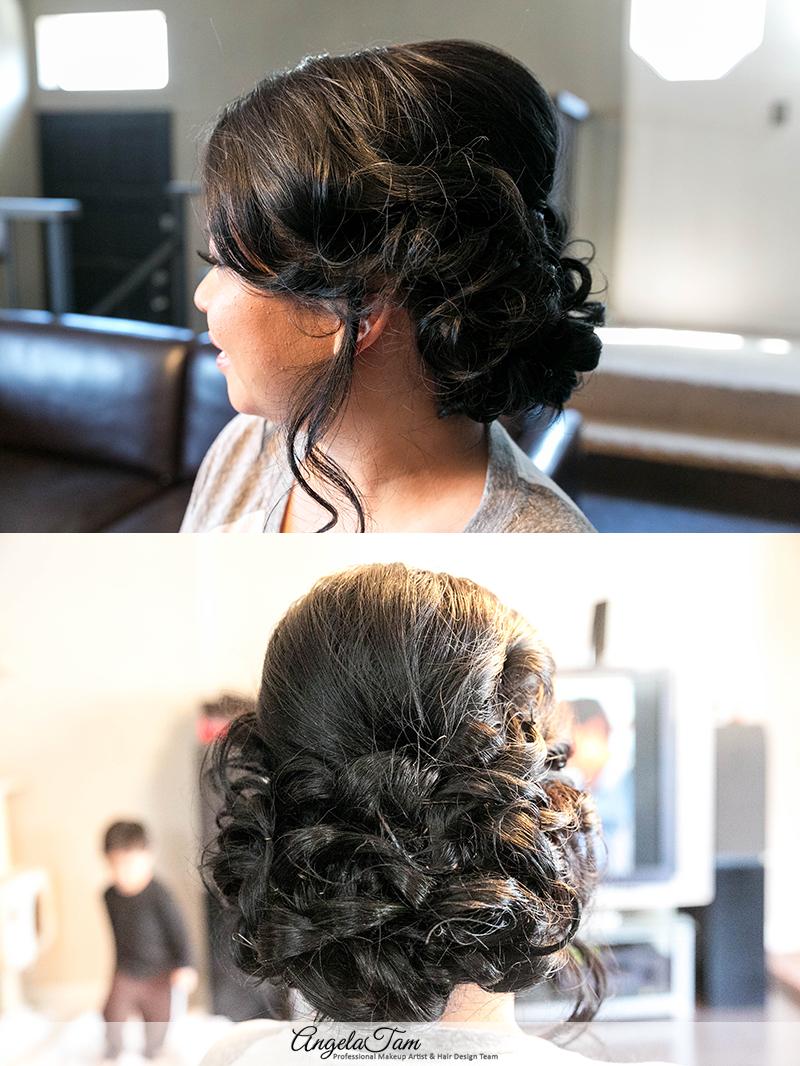 Asian Bride Wedding Bridal Makeup Artist And Hair Stylist