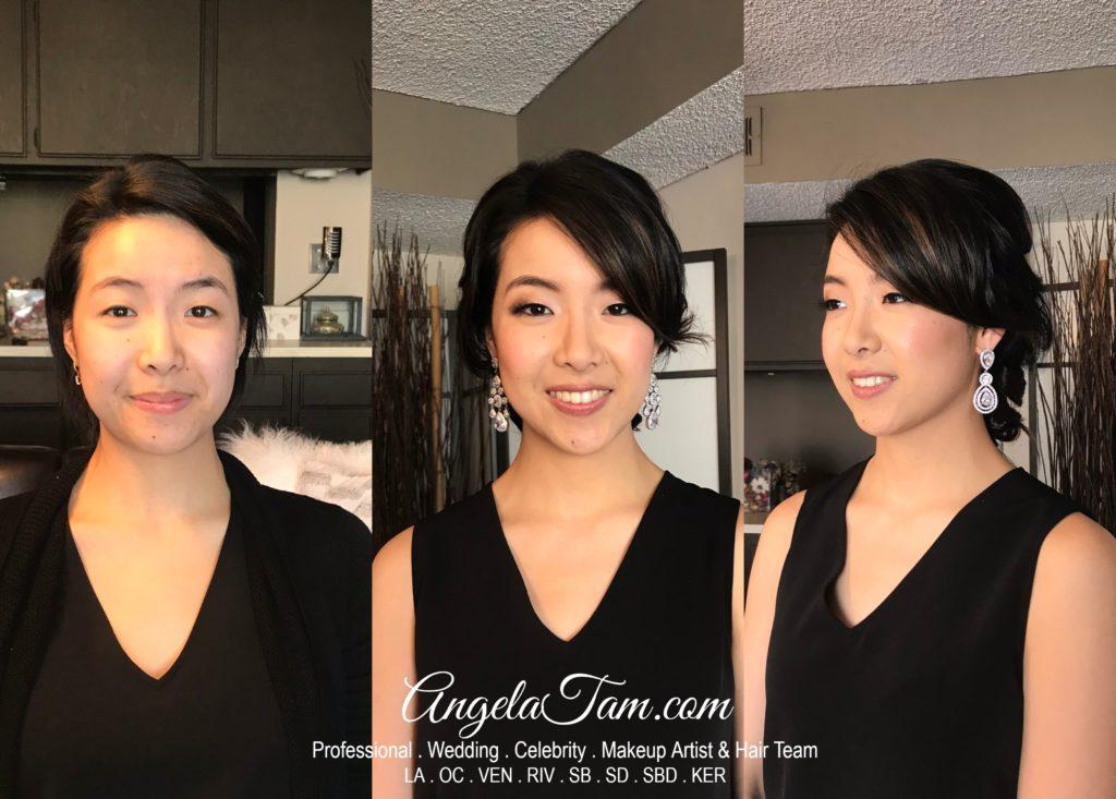 Beautiful Soft Dewy Asian Bridal Makeup