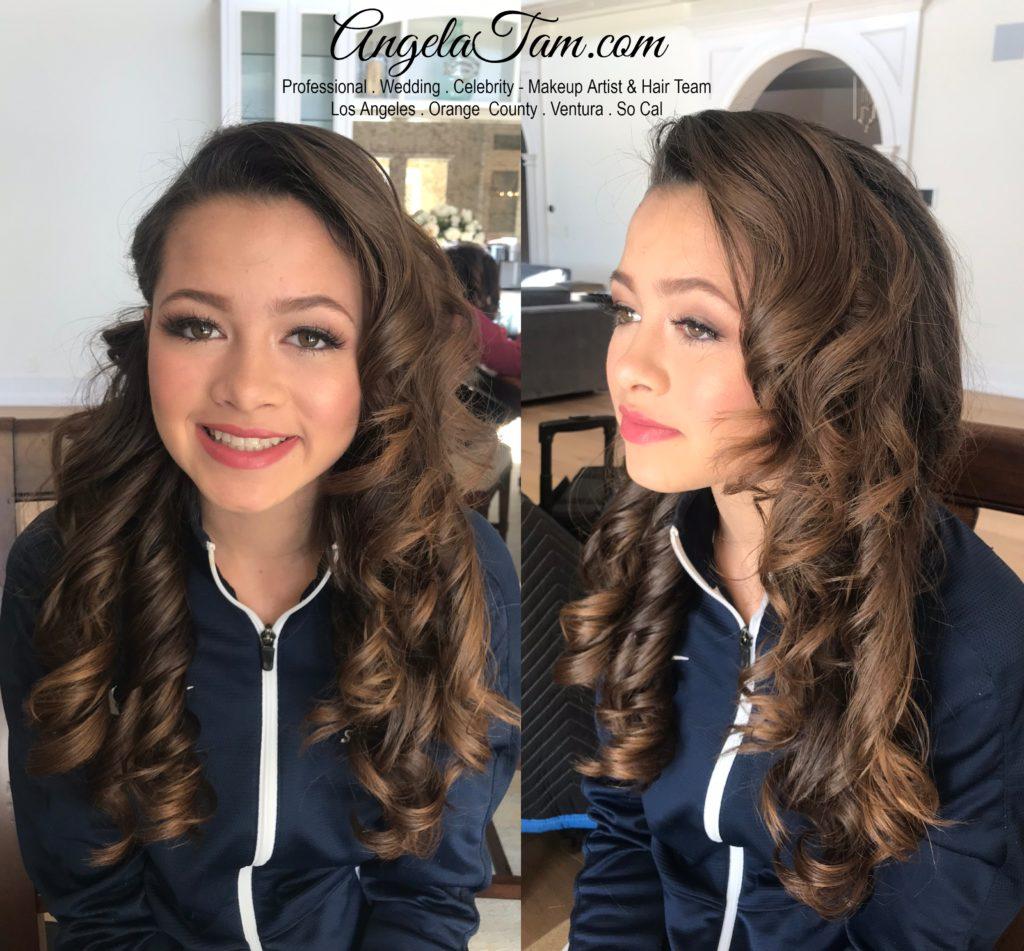 Hair Stylist Angela Tam Mua Team
